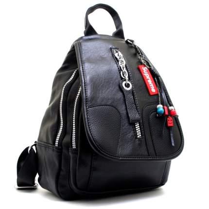 Рюкзак женский Supreme 627 черный