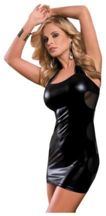 Платье Candy Girl, wetlook, черное 840021