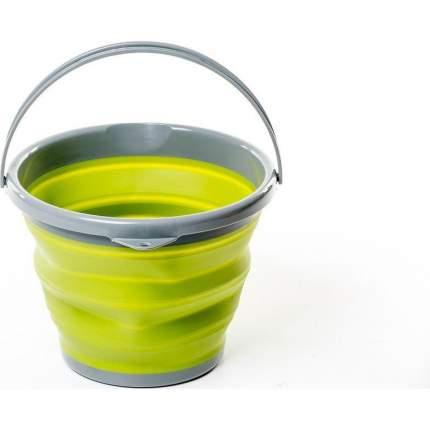 Ведро Tramp TRC-091 складное силиконовое 10 л, оливковый