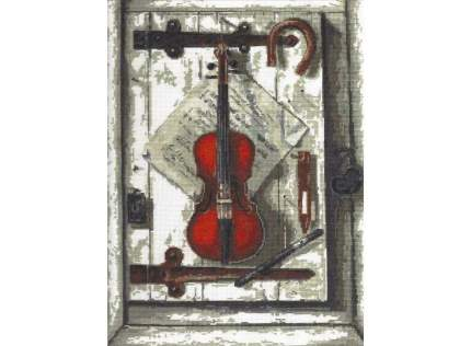 Набор для вышивания Палитра Натюрморт со скрипкой