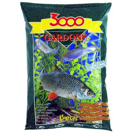 Прикормка Sensas 3000 Gardons для ловли плотвы, 1 кг