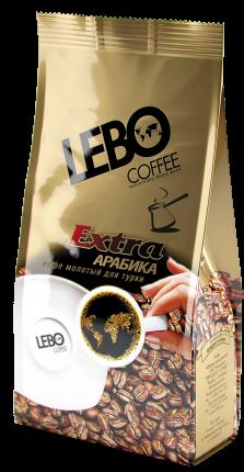 Кофе молотый Lebo Extra для турки 75 г