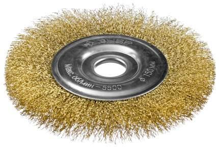 Дисковая кордщетка для угловых шлифмашин Зубр 35187-150