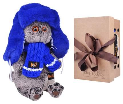 Мягкая игрушка Басик И Ко Уууххх...Холодно Басик В Меховой Шапке Ks19-096