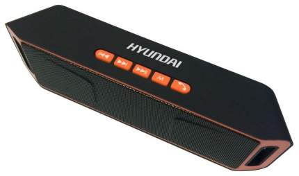Беспроводная акустика HYUNDAI H-PAC160 Orange/Black