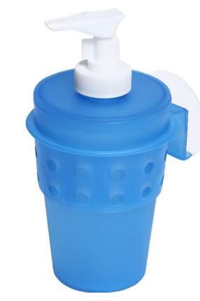 Дозатор для жидкого мыла Dosh | Home Misam 700212 на присоске Синий