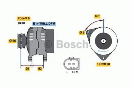 Генератор Bosch 0986044330
