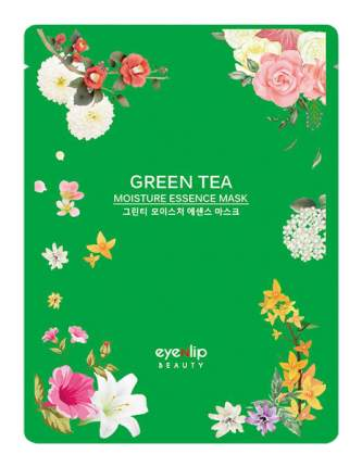 Маска для лица Eyenlip Green Tea Oil Moisture Essence Mask 25 мл