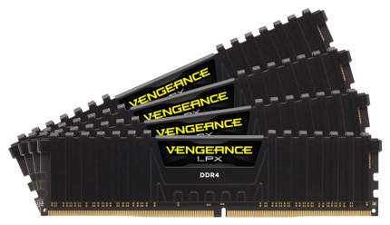 Оперативная память Corsair VENGEANCE LPX CMK64GX4M4C3000C16
