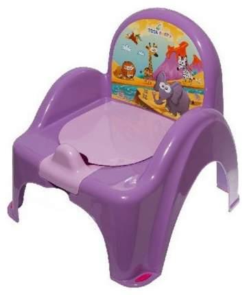 Горшок-кресло Tega Baby Сафари Фиолетовый