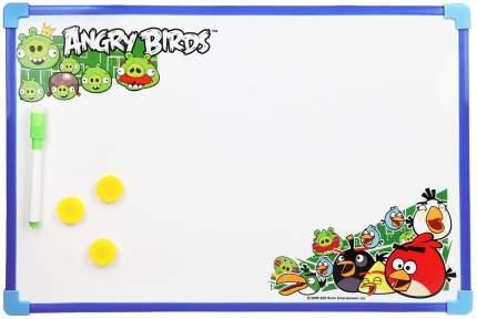 Доска для рисования 1 Toy Angry Birds Т56205 С маркером и магнитами 44х29 см