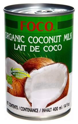 Органическое кокосовое молоко Foco organic 10-12% 400 г