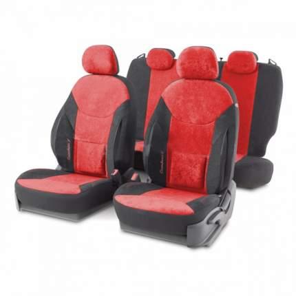 Комплект чехлов на сиденья Autoprofi Универсальный COM-1505VF BK/RD