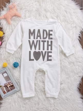Комбинезон детский CombiKids Made with Love 100 р-р