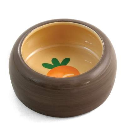 Одинарная миска для грызунов Triol, керамика, разноцветный, 0.1 л
