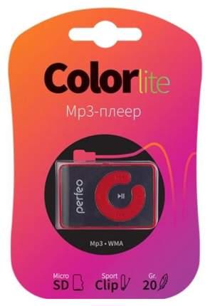 МР3-плеер с клипсой Perfeo Color-Lite Красный