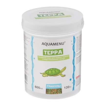 Корм для водных черепах Аква Меню Терра 600мл