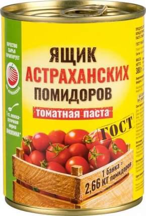 Томатная паста Ящик астраханских помидоров 380 г
