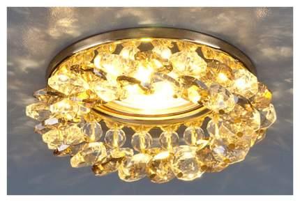 Встраиваемый светильник Elektrostandard 206 MR16 GD/GC золото/тонированный