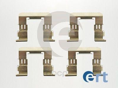 Комплект монтажный тормозных колодок Ert для Subaru outback 03-, Legacy V 09- 420104