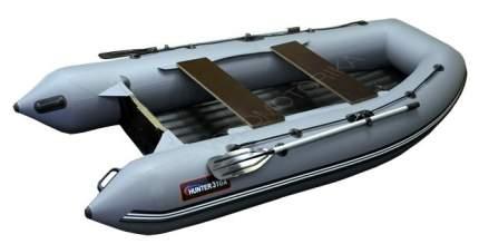 Лодка рыболовная Хантер 310 А серая