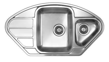 Мойка для кухни из нержавеющей стали Florentina Профи 945.510.1К, сталь матовая