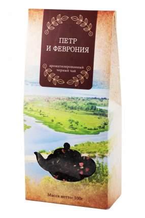 Чай черный Gutenberg ароматизированный Петр и Феврония 100 г