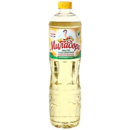Масло Миладора подсолнечное рафинированное дезодорированное  0.9 л