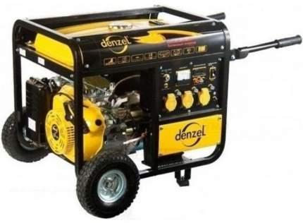 Бензиновый генератор DENZEL DB8500Е 94662