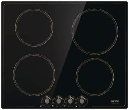 Встраиваемая варочная панель индукционная Gorenje IK640CLB Black