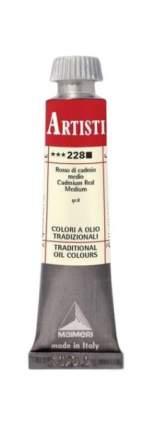 Масляная краска Maimeri 228 кадмий красный средний 20 мл