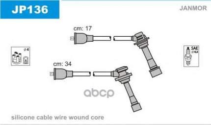 Комплект проводов зажигания JANMOR JP136