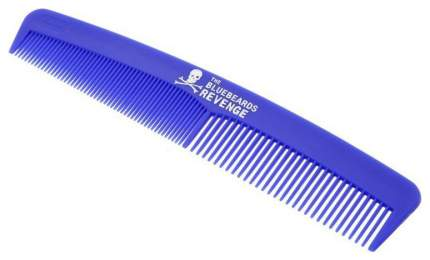 Расческа The Bluebeards Revenge Blue Mens Hair Beard Styling Comb