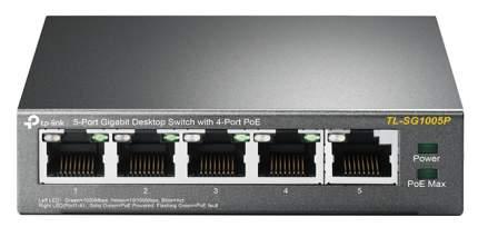 Коммутатор TP-Link TL-SG1005P Black