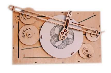 Конструктор деревянный Uniwood Машина для рисования UNIGRAPH