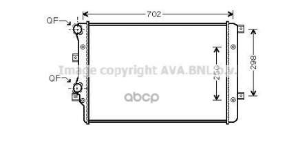 Радиатор охлаждения AVA QUALITY COOLING VNA2206
