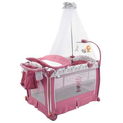 NUOVITA Детская кровать-манеж Fortezza (цвет: mauve/сиреневый) AP930 603