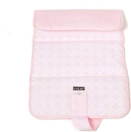Kipkep пеленальный коврик napper, розовый