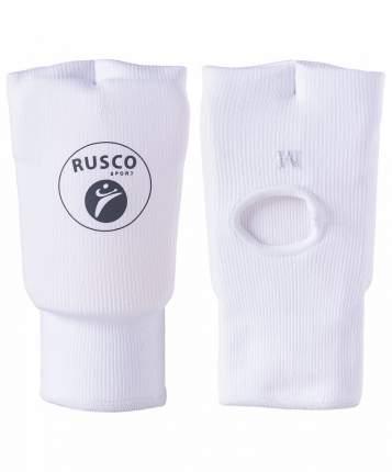Накладки на кисть Rusco Sport, хлопок, белый (L)
