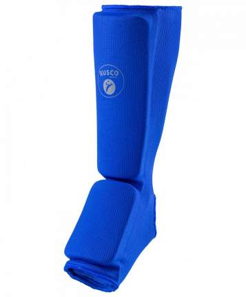Защита голень-стопа Rusco Sport, хлопок, синий (XS)