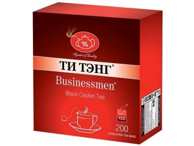 Чай черный в пакетиках для чашки в конвертах Ти Тэнг Businessman 200*2 г