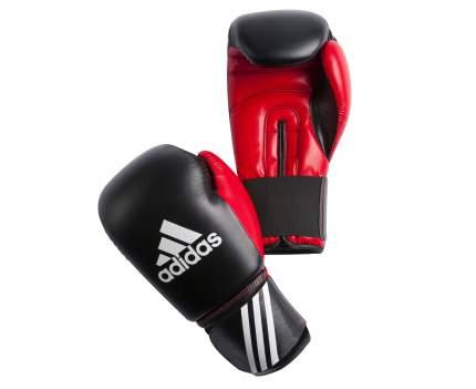 Боксерские перчатки Adidas Response черные 10 унций