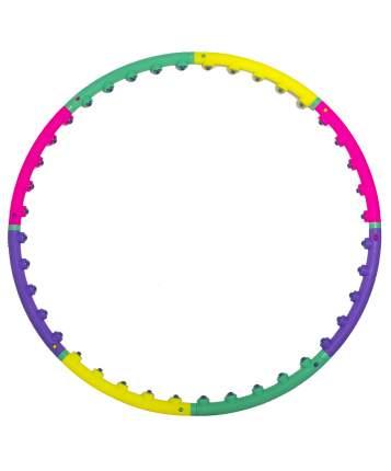 Массажный обруч StarFit HH-102 98 см желтый/зеленый/фиолетовый