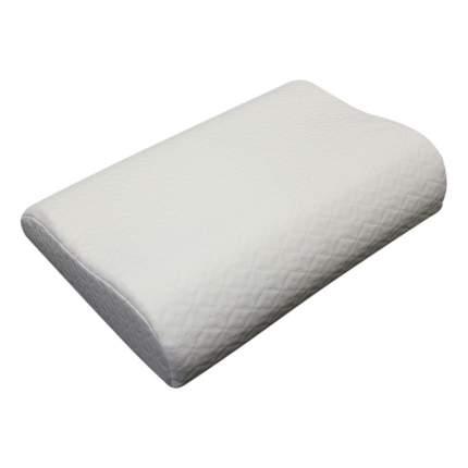 Ортопедическая подушка EcoSapiens Memory PLUS с эффектом памяти 60x40x13см