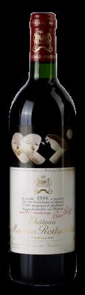 Вино  Chateau Mouton Rothschild, 1986 г.
