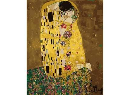 "Картина по номерам MG543 ""Поцелуй Густав Климт"""