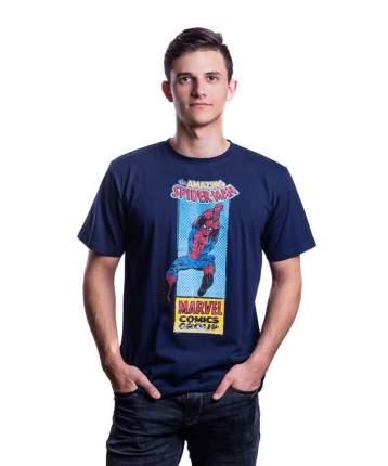 Футболка Good Loot Marvel Spiderman Comics, синий, S INT