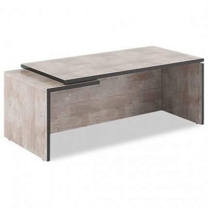 Письменный стол SKYLAND SKY_sk-01231759, вишня мемфис/темно-коричневый