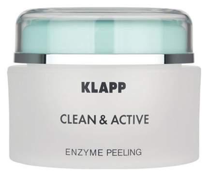 Пилинг для лица Klapp Clean & active Enzyme Peeling 250 мл