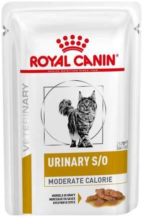 Влажный корм для кошек ROYAL CANIN Vet Diet Urinary S/O Moderate Calorie, мясо, 85г